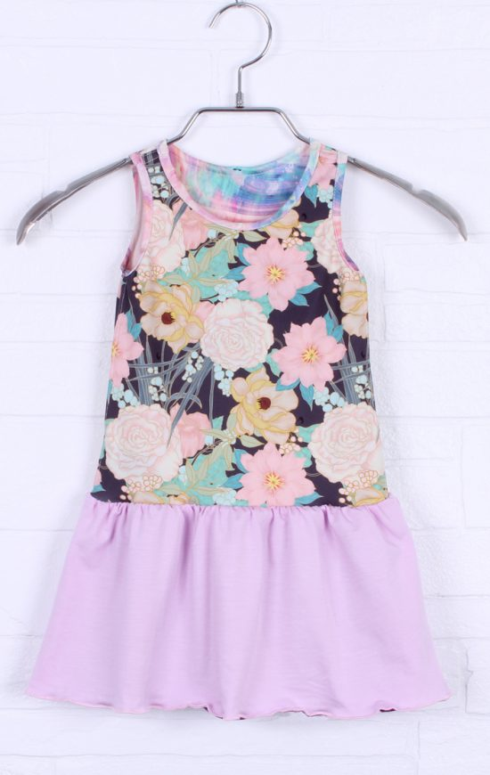 Reversible girly dress - Adorable